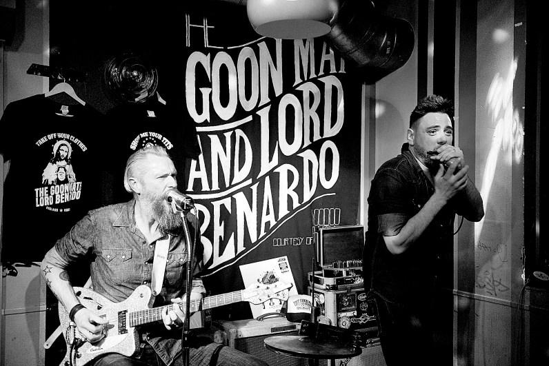 The Goon Mat and Lord Benardo @ Les Amis © 01.03.2018 Patrick Principe