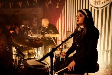 Reverend Beat Man and Sister Izobel Garcia @ Voodoo Rhythm Circus © 29.06.2018 Patrick Principe