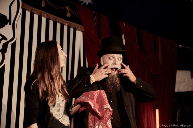 Meister Eckarts Kuriositätenkabinett @ Voodoo Rhythm Circus © 29.06.2018 Patrick Principe