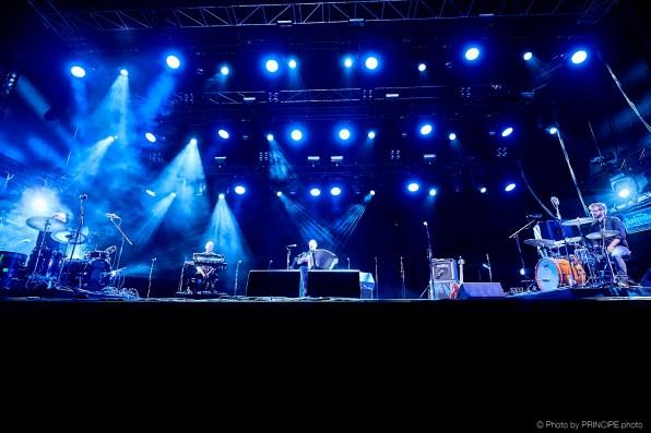 Mario Batkovic @ Haldern Pop Festival Gäste: Simon Baumann, Benjamin Külling & Christoph Steiner © 09.08.2018 Patrick Principe
