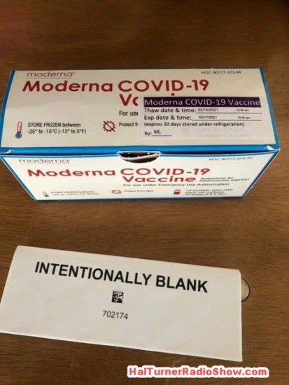 Connecticut Publishes Moderna COVID Vax Ingredients: Deadly Poison Moderna-vaccine-box