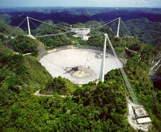 Arecibo Radio Telescope Collapse, Initial Reports And Analysis Arecibo-1-Geek-Wire