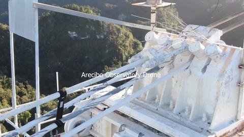 Arecibo Radio Telescope Collapse, Initial Reports And Analysis Arecibo-cable-strain