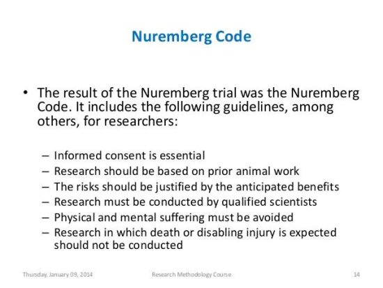 Why is the Nuremberg Code being used to oppose Covid-19 vaccines? Nuremberg-Code-Slide-Share