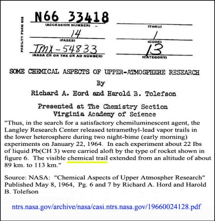NASA Scientist Says Chemtrails Are Real Nasa-chemical-trails-chemical-aspects-of-upper-atmospher-research-1964