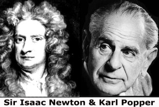 newton and popper