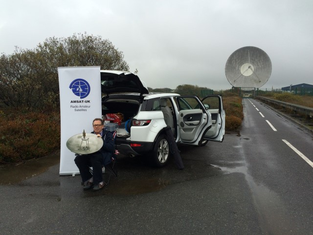 ISS received at Goonhilly!