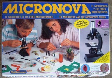 Micronova. Cuando alguien tuvo la magnífica idea de poner la magia del microscopio al alcance de todos
