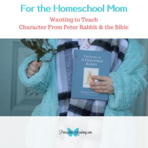 character study, peter rabbit, classical education, homeschool, homeschooling, Principle Approrach method, Bible principles