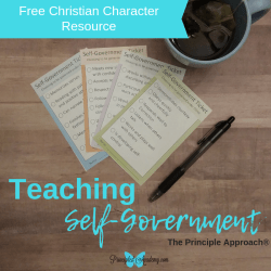 Teaching-Self-Government-Christian-Character-Principle-Approach