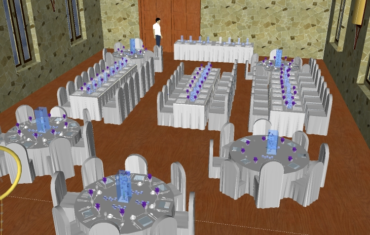 The Seating Sketch: Planning The Wedding Seating