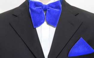 bow tie and pockett square match