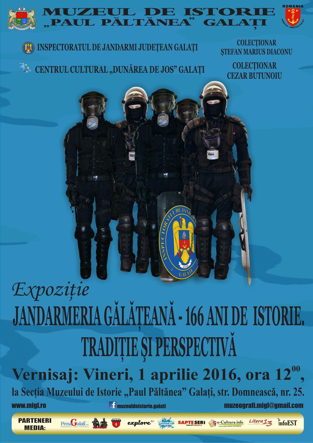Afis Jandarmeria galateana