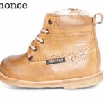 Vinterstøvler til børn i læder