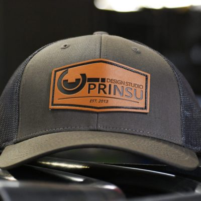 Brown Black Prinsu hat