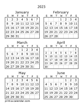Image Result For Printable Calendar Months