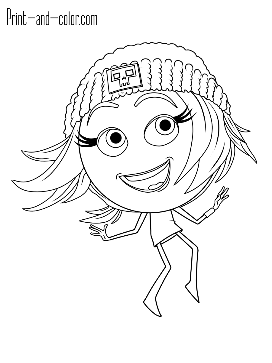 Emoji How To Draw Coloring Pages Sketch Coloring Page