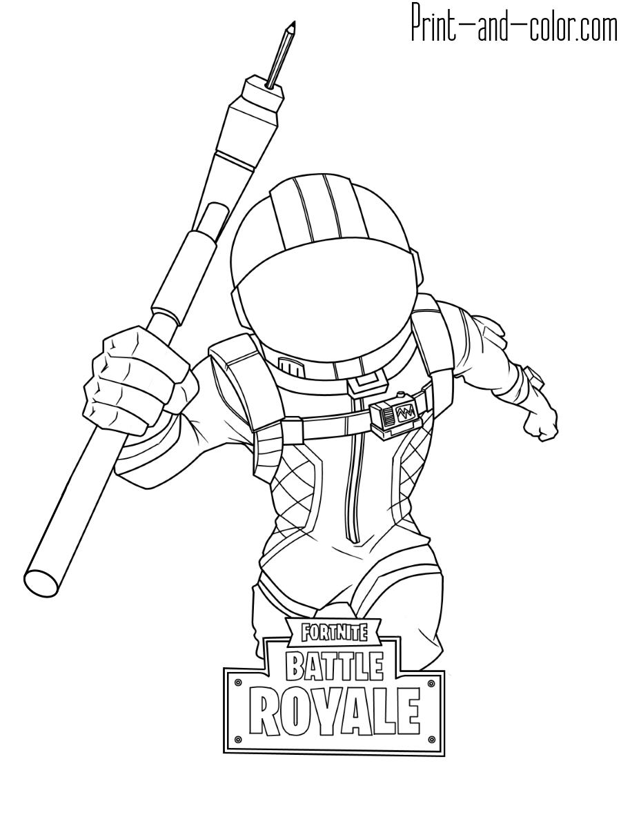 drift fortnite coloring pages