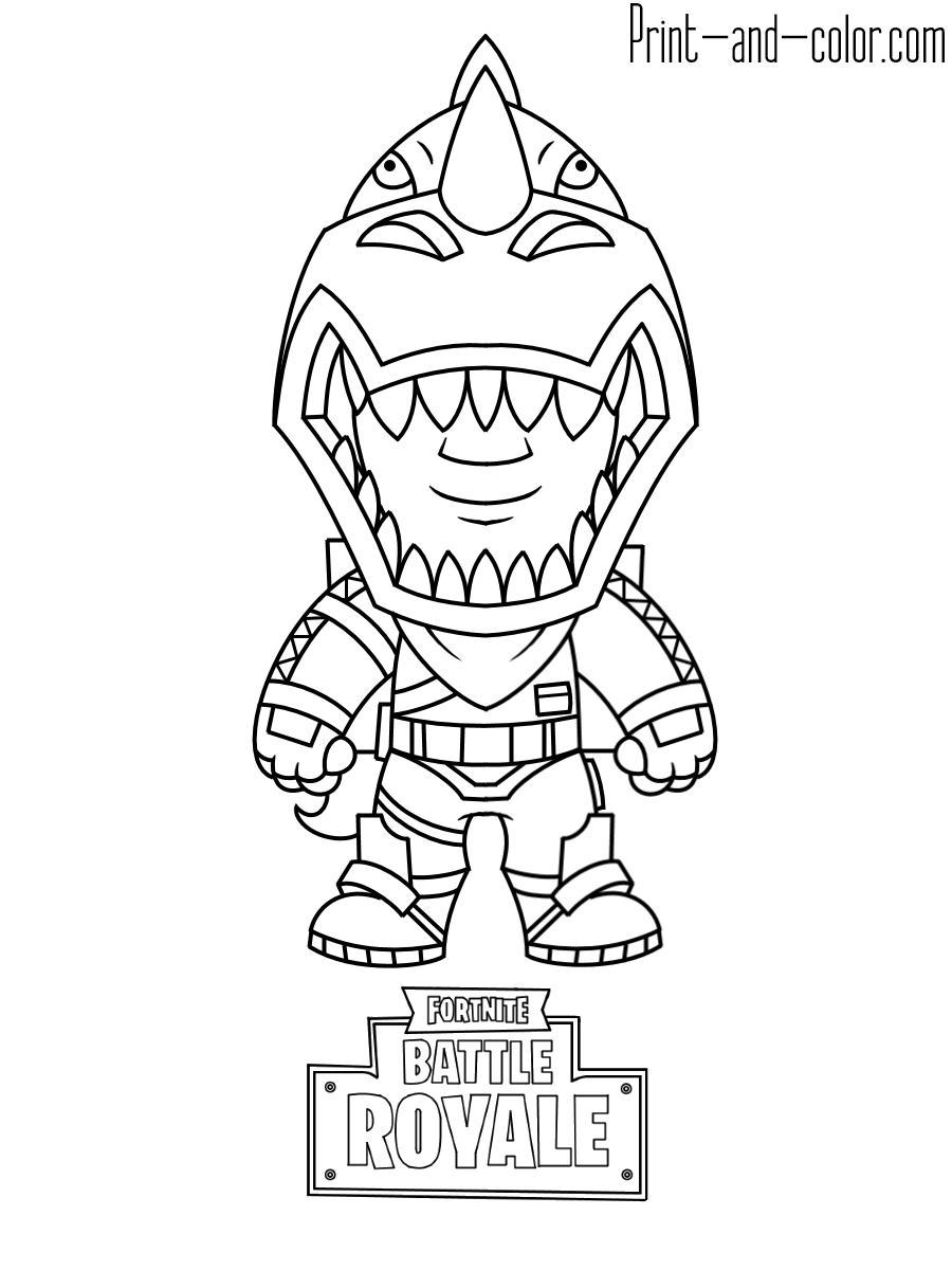 Fortnite Pumpkin Launcher Coloring Page Wugz Color Coloring