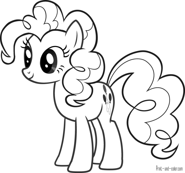 My Little Pony coloring pages  Print and Color.com
