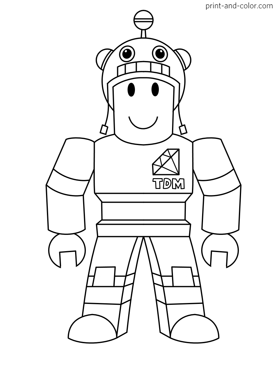 Roblox Printable Coloring Pages : roblox, printable, coloring, pages, Roblox, Coloring, Pages, Print, Color.com