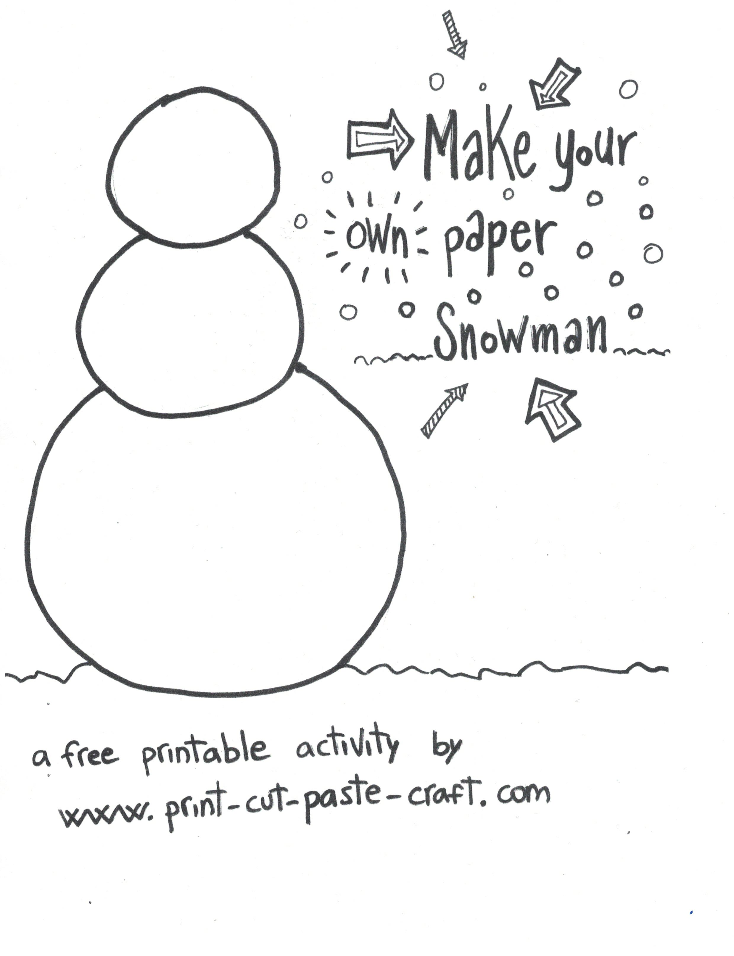 Print Cut Paste Craft