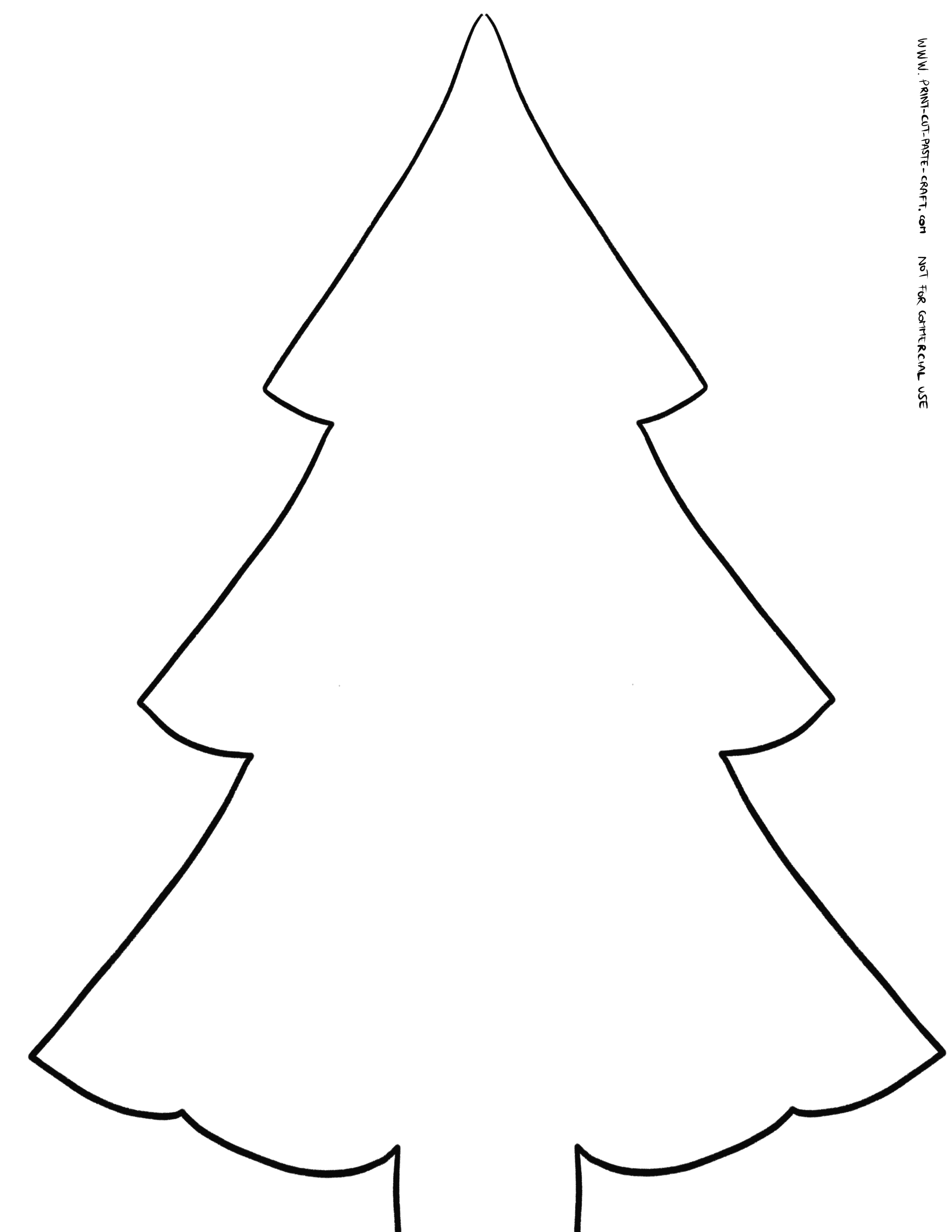 Color Cut And Paste Your Own Christmas Tree