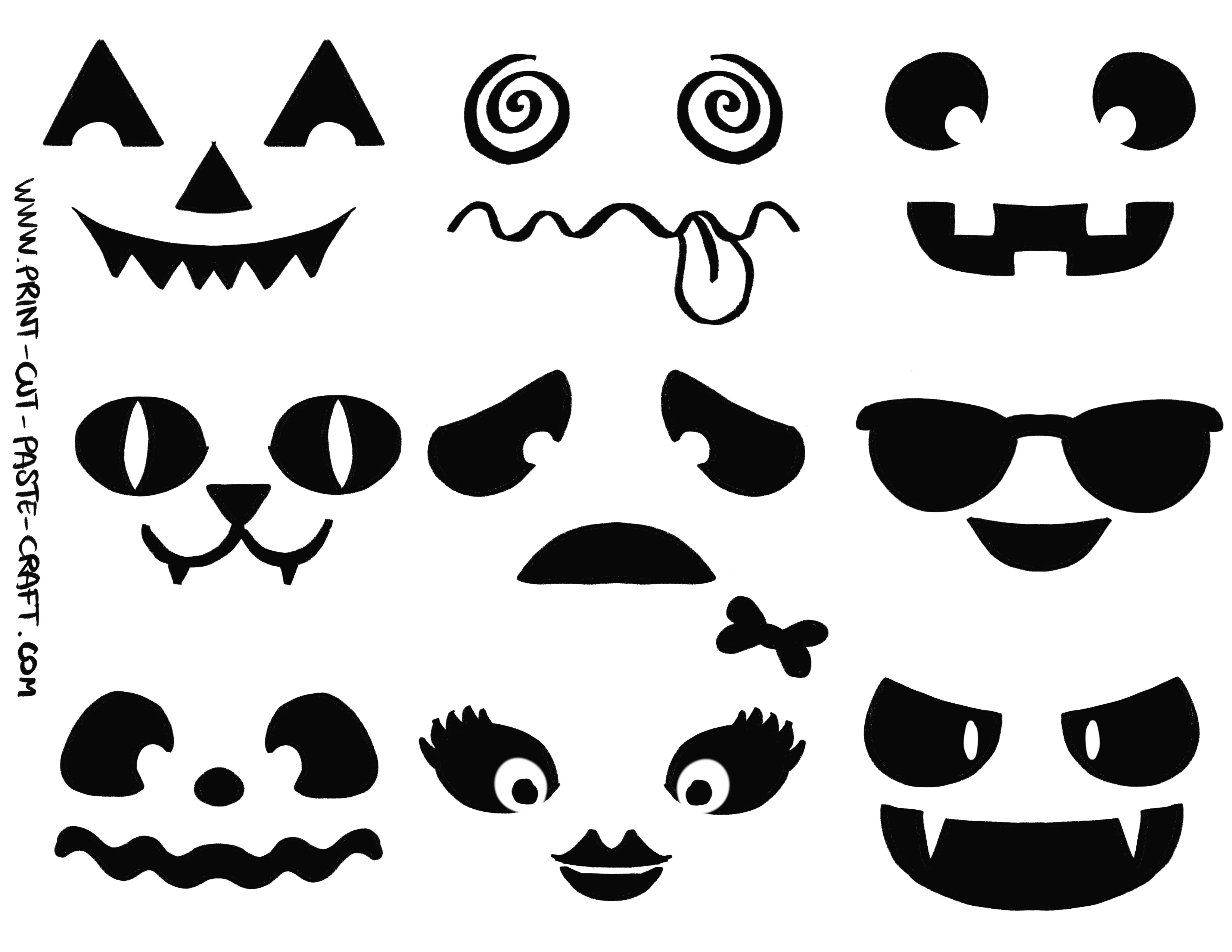 Free Printable Halloween Craft Jack O Lanterns