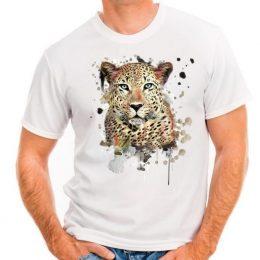 Мъжка тениска с пантера