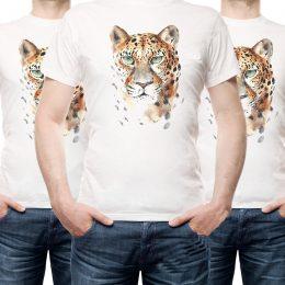 Мъжка тениска с тигър