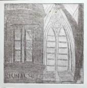 St John's monochrome etching 2