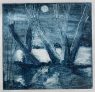 Willows Ethcing 1 moonlight