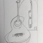 4 Guitar sketch