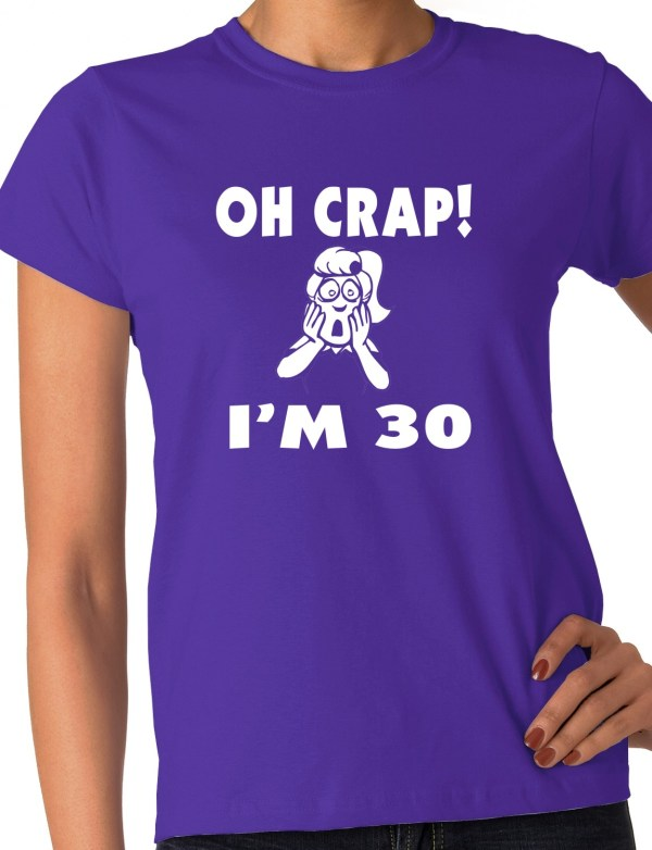 8c8c64ed6c Funny 30th Birthday T Shirts - Year of Clean Water