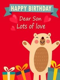 Printable Birthday Cards For Son : printable, birthday, cards, Printable, Birthday, Cards,, Create, Print, Cards