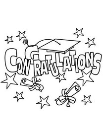 Free Printable Congratulations Coloring Cards Cards