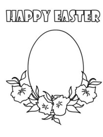 Free Printable Color Your Card Easter Cards, Create and