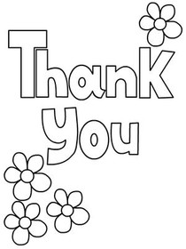 Free Printable Thank You Coloring Cards Cards, Create and
