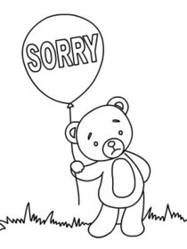 Free Printable Sorry Cards, Create and Print Free