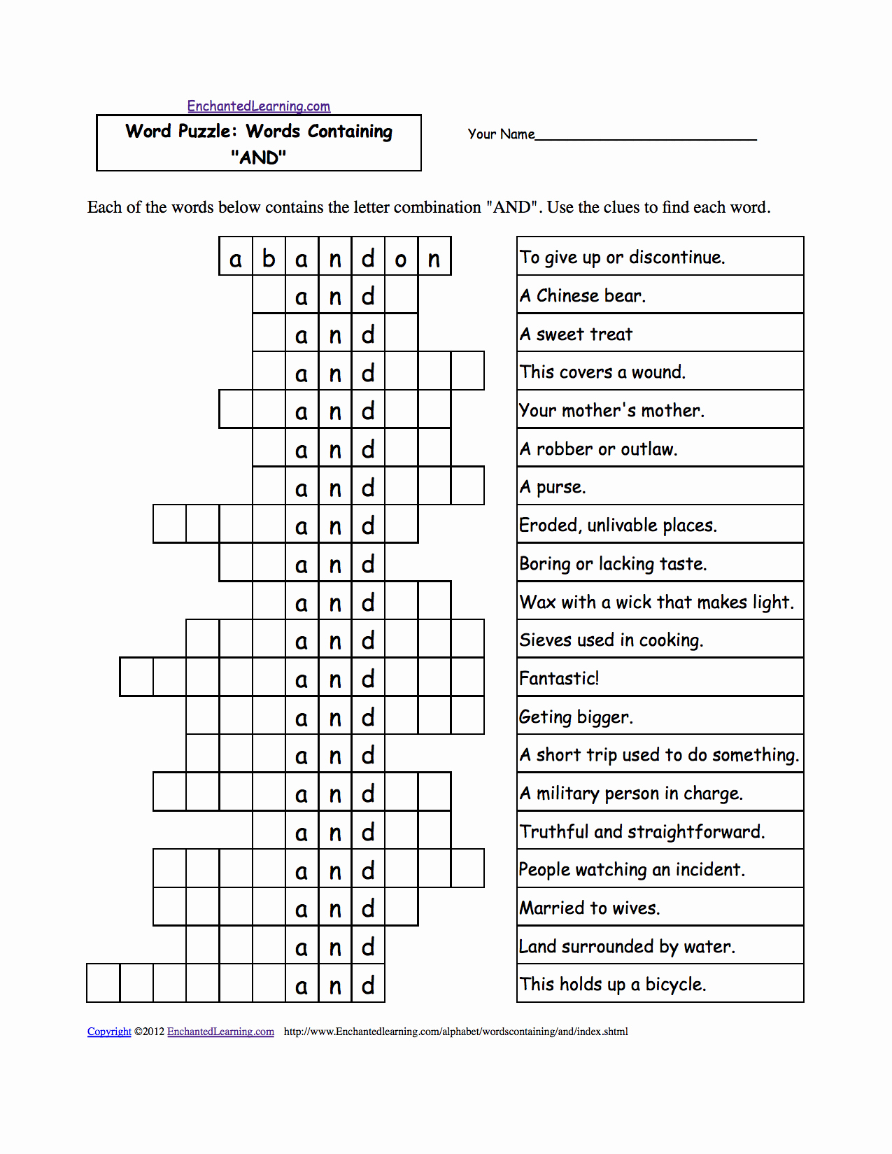Printable La Times Crossword