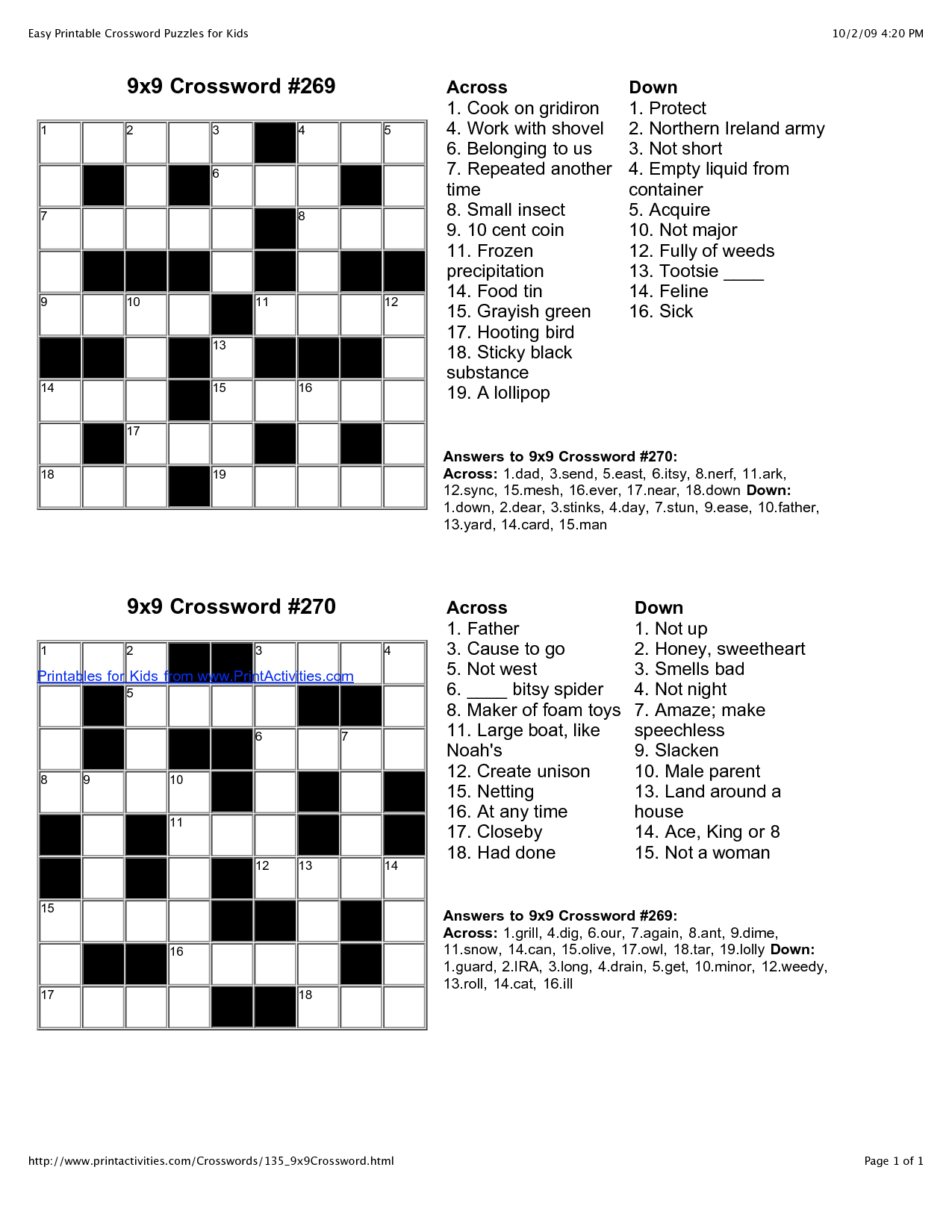 Easy Crossword Puzzle Worksheets Printable Worksheets And Activities For Teachers Parents Tutors And Homeschool Families,Buckwheat Plant