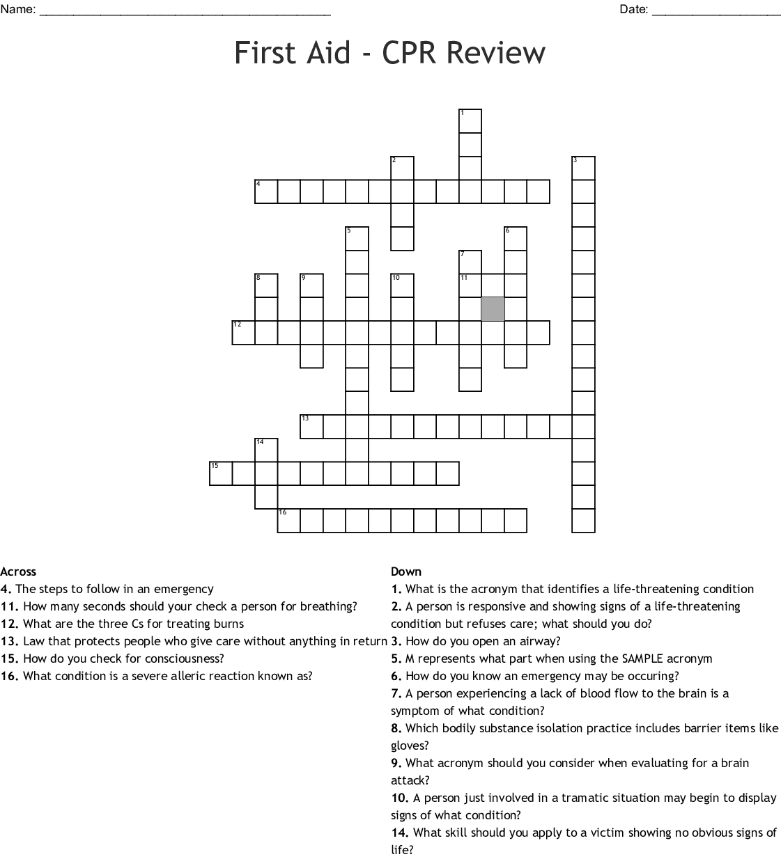 Printable La Times Crossword