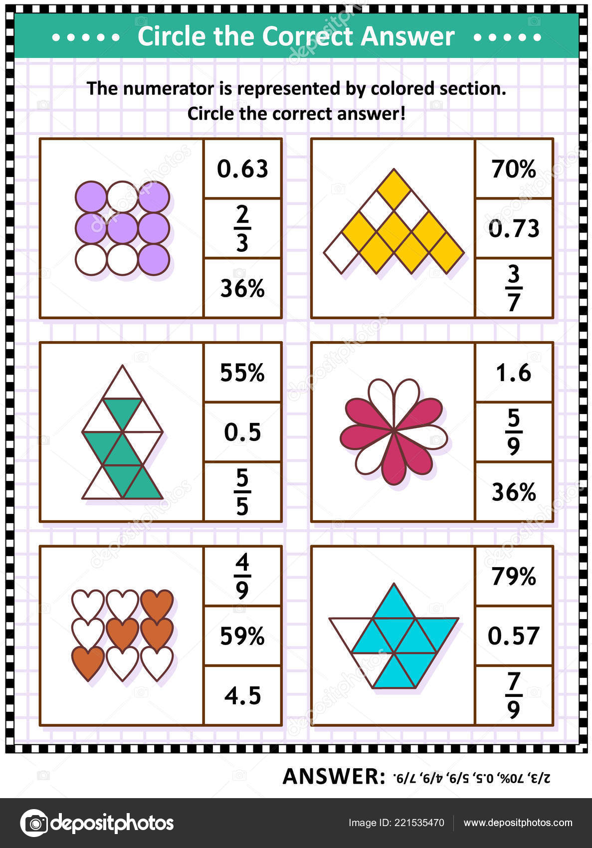 Worksheet Visual Puzzle