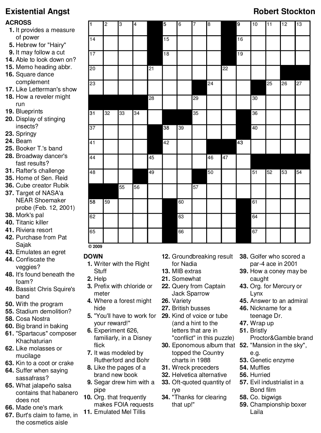 Top Harry Potter Crossword Printable