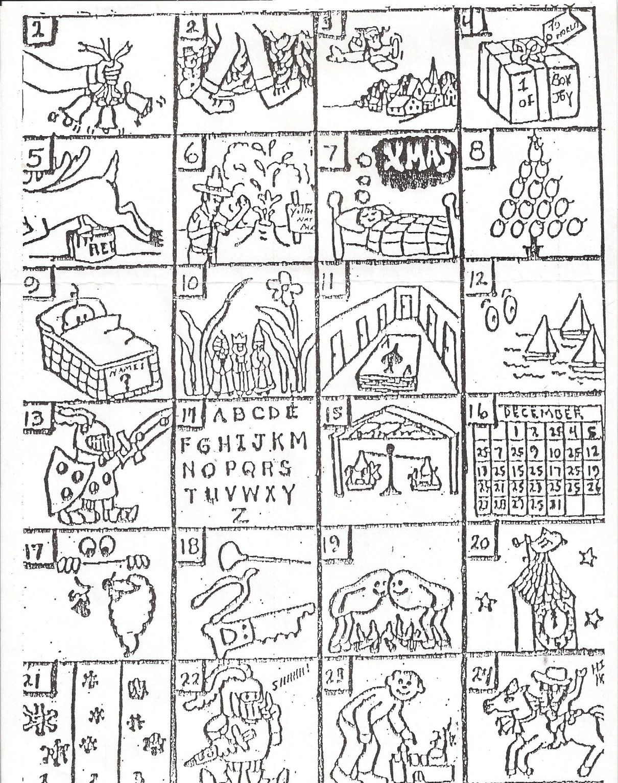 Printable Christmas Rebus Puzzles