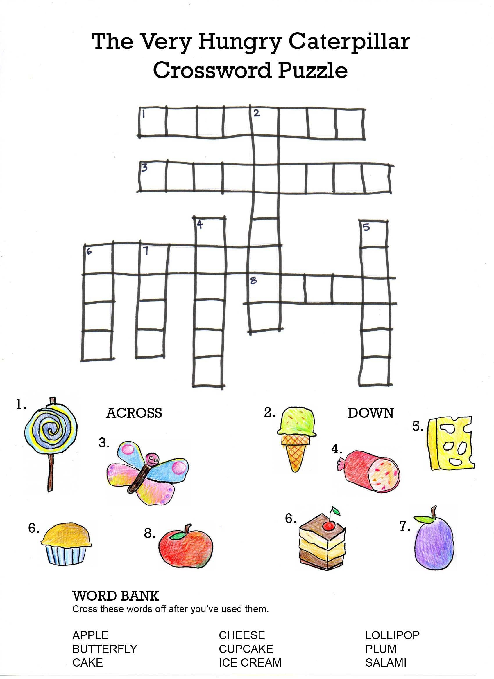 Printable Puzzles For 5 7 Year Olds