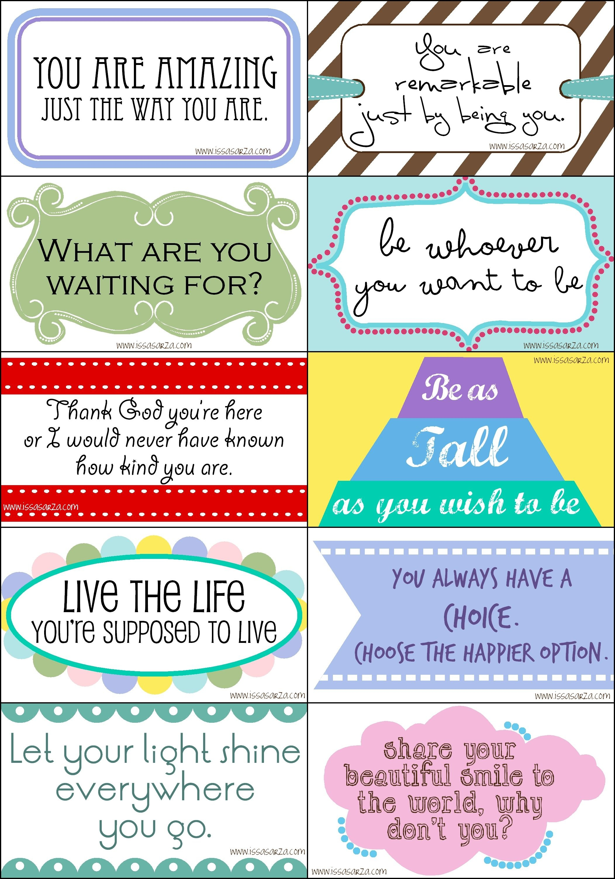 Kindness Cards Printable Free
