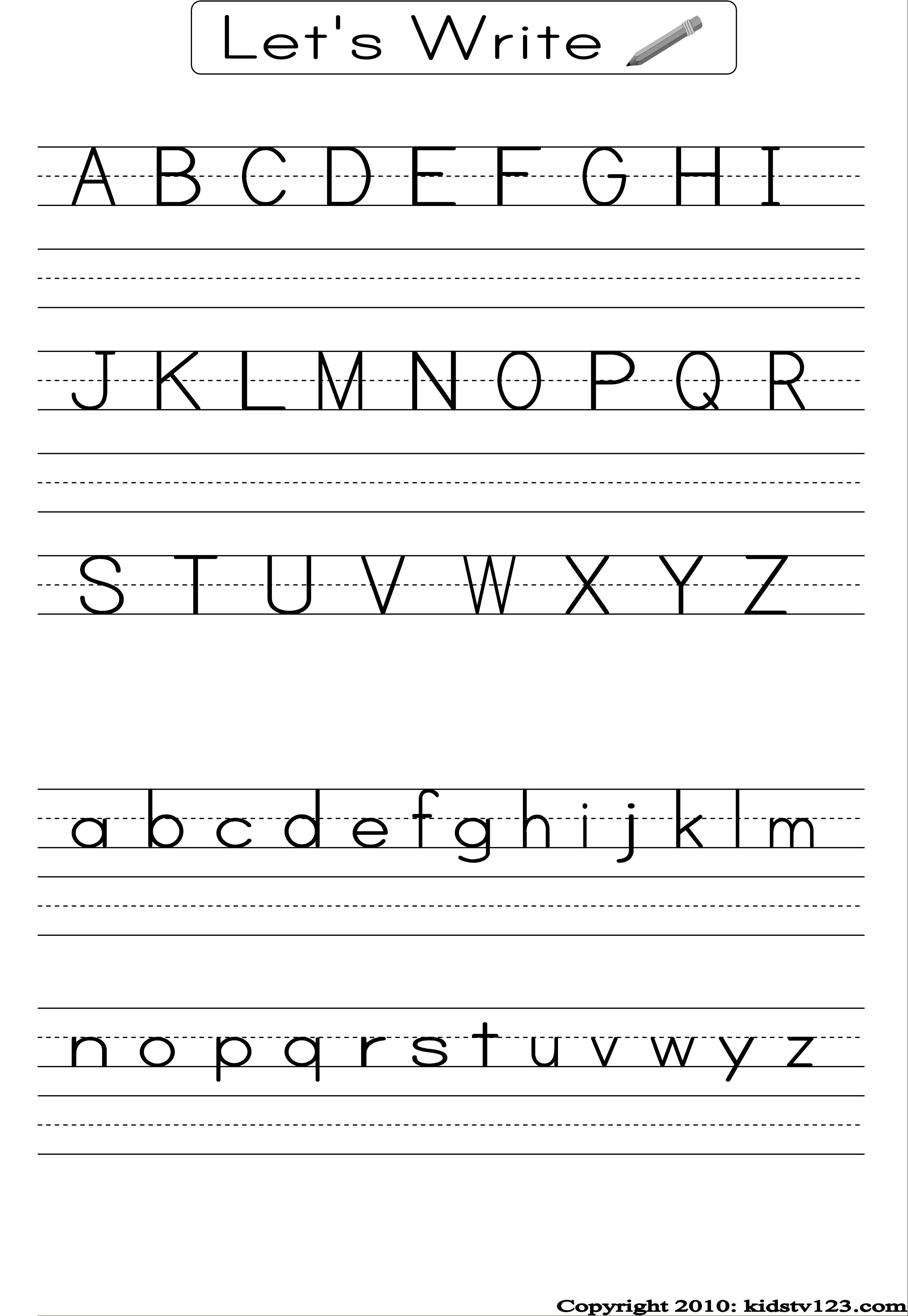 Pre K Math Worksheets Alphabet Learning Printable