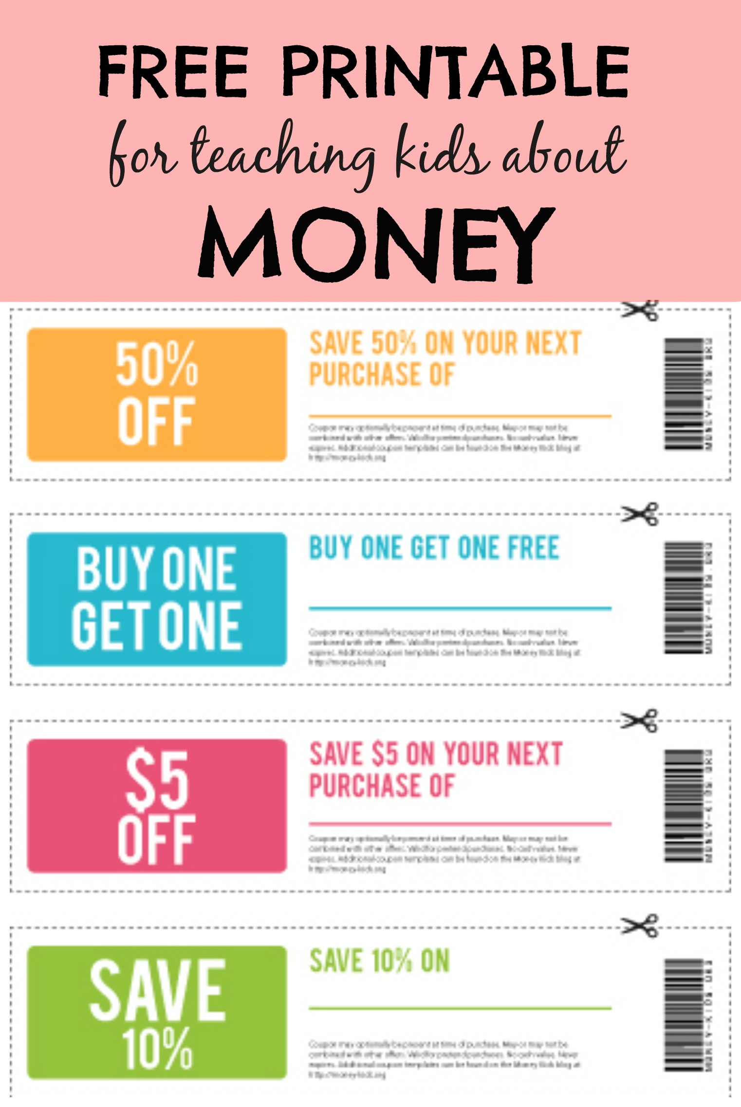 Free Printable Money For Kids