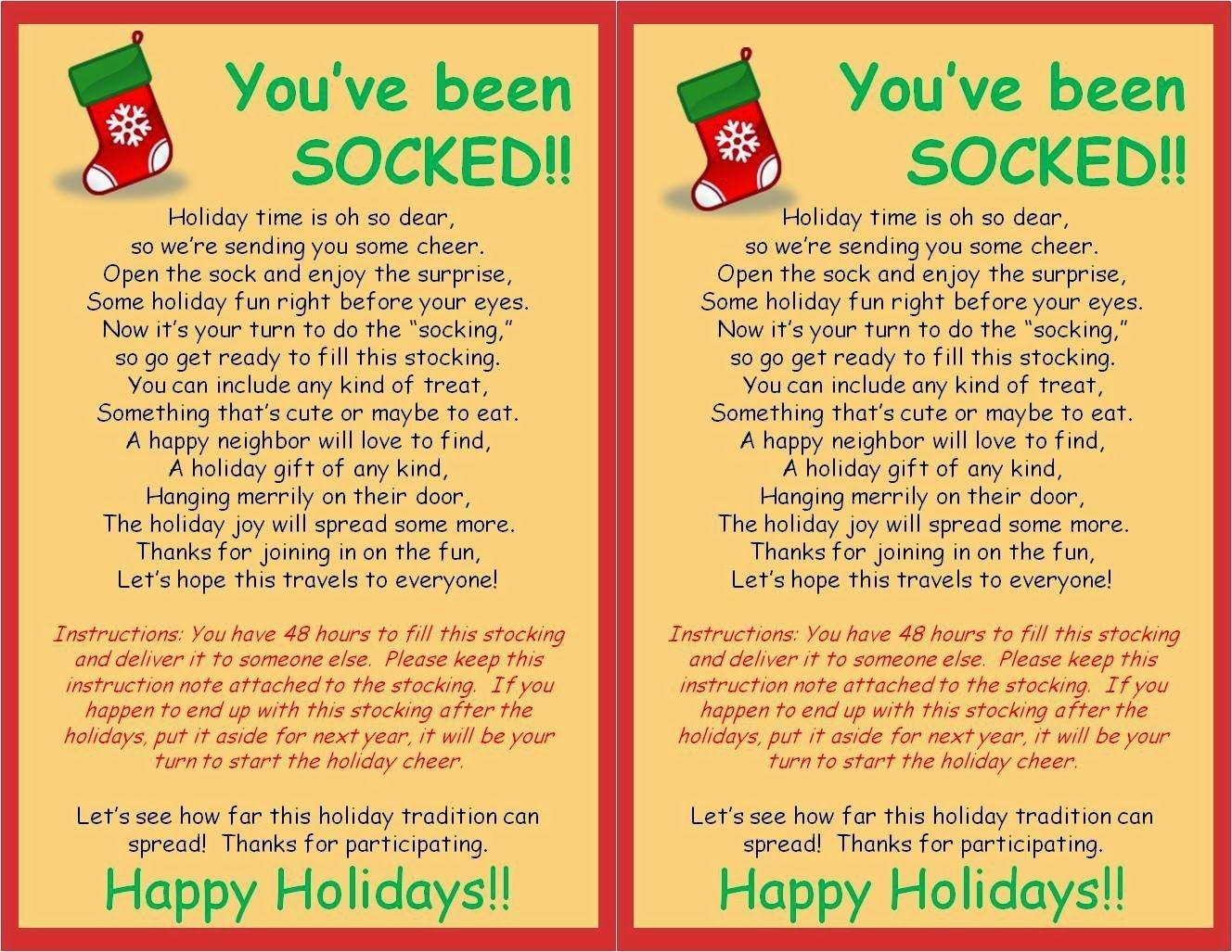 Strong Armor Christmas Socking